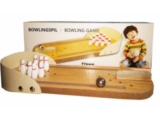 Children's educational toys, wooden toys, mini bowling, baby toys, parent-child interactive board games