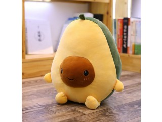 Happy little avocado plush baby child comfort toy pillow