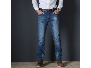 Casual Slim Stretch Jeans Denim Pants