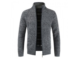 Solid Cotton Thick Warm Jacket