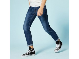 Slim Fit Pants Classic Jeans