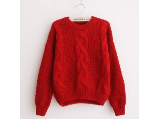 Jumpers Autumn Knitted Sweaters Christmas